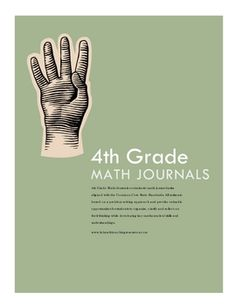 4th Grade Math Journals contains 60 math journal tasks aligned with the Common Core State Standards. All journal tasks are based on a problem solvi...