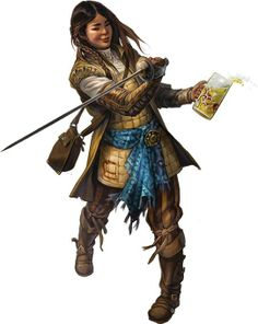 Concept art for the dwarves