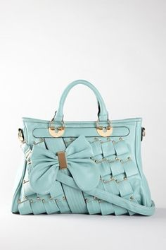 Pleated Bow Tote<3