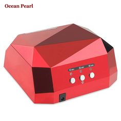 36W UV Lamp LED Ultraviolet Lamp UV Nail Dryer Nail Lamp Diamond Shaped CCFL Curing for UV Gel Nails Polish Nail Art Tools-1006