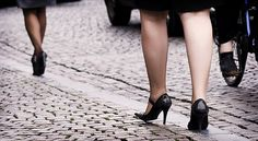 "The city of Lagos informs their visitor for ""unpleasant"" high-heel experience in its old downtown full with cobble stone."