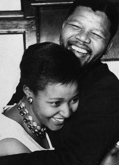 Winnie and Nelson Mandela