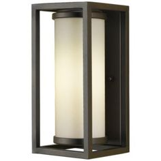 Industrial Moderne Outdoor Wall Sconce by Murray Feiss