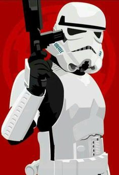 Stormtrooper pin-up study from Star Wars. Stormtrooper pin-up Star Wars Kunst, Star Wars Art, Star Wars Poster, Decoracion Star Wars, D Mark, Star Wars Images, Clone Trooper, Love Stars, Cultura Pop