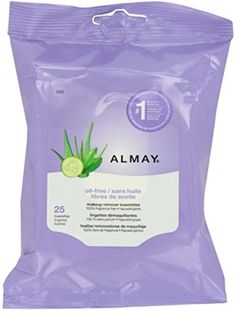 Almay Makeup Remover Towelettes, Oil-Free 25 ea (Pack of 2) * Read more  at the image link.