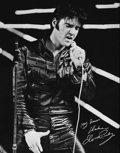Elvis Presley  - 68' Comeback Special. The King was on top of his game.