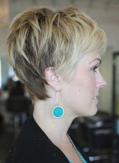 30 Chic Pixie Haircuts: Trendy Ombre Hairstyle for Women