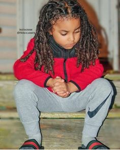 LocNationTheMovement : Tag a dope mom or dope kid with locs! Cute Mixed Babies, Cute Black Babies, Beautiful Black Babies, Beautiful Children, Cute Babies, Baby Boy Hairstyles, Mens Braids Hairstyles, Cute Hairstyles For Kids, Garçonnet Swag