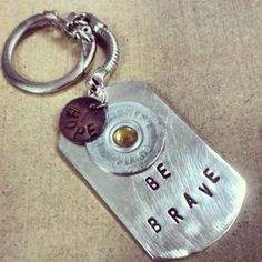 20 ga. Shotgun Shell Keychain from Tiffany Howell for $14 on Square Market