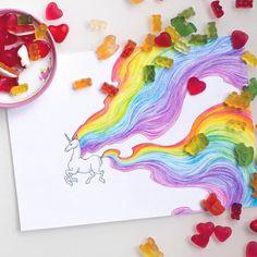 Всем радужных единорогов и мармеладных мишек! #mywork #art #drawing #colorpencils #sweet #unicorn #rainbow #topcreator #art_we_inspire #artofdrawingg #arts_help #рисунок #радуга #единорог #мармелад