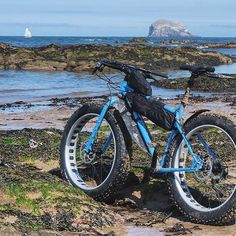 Fat tire bikes traction on the most troublesome terrain. #fatbiking…