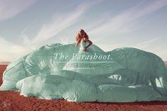ParaShoot series!! By BEMoreMEdia fashion photography Los Angeles Parachute fashion and style