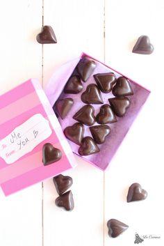 bombones de chocolate para san valentin. Como atemperar el chocolate!!!!!!!!!!