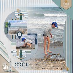 ScrapStory: A la plage