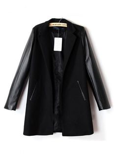 You could pair some super hot heels with this jacket
