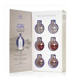 The Lakes Gin Bauble Gift Set - Master of Malt Master Of Malt, Christmas Crackers, Distillery, Gin, Vodka Bottle, Bauble, Lakes, Christmas Biscuits, Christmas Cookies