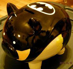 BAT - BLOG : BATMAN TOYS and COLLECTIBLES: Christmas Gift Idea - BATMAN PIGGY BANK Spotted at Wal-Mart