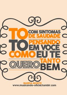 Song Lyrics Art, Lyric Quotes, Portuguese Quotes, Sweet Words, More Than Words, Cute Quotes, Random Quotes, Musical, Music Is Life