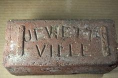 "ANTIQUE PAVER BRICK ""JEWETT VILLE"""