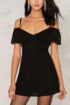 Try this sexy little black party dress!#dress  #black   #maykool