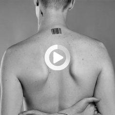 Barcode Temporary Tattoo - Fake #thightattoos #tattooideas Cute Simple Tattoos, Simple Forearm Tattoos, Temporary Tattoo Sleeves, Sleeve Tattoos, Fake Tattoos, Cool Tattoos, Dragon Thigh Tattoo, Barcode Tattoo, Thigh Tattoo Quotes
