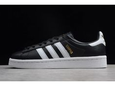 Buy High Quality adidas Originals Campus Black/White-Metallic Gold Shoes Replica Men and Women Sports Shoes from PerfectKicks at Cheap Price. Adidas Models, Adidas Men, Adidas Cheap, Adidas Shoes Nmd, All White Sneakers, Jordan 13 Black, Adidas Originals, The Originals, Blue Shoes