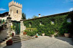 Villa di Montelopio, Pisa Area, Tuscany, Italy