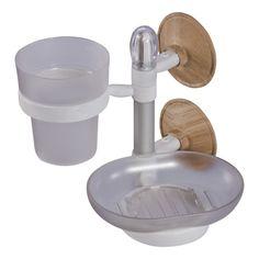 Porta oggetti doppio - Tumbler and soap dish holder