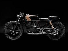 CLUB BLACK #3 - Yamaha RD 400 by Wrench Monkees Copenhagen, Denmark