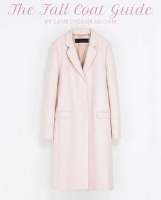 Style Guide: The Chicest Fall Coats | lauren conrad | #niciasonoki #fashionista
