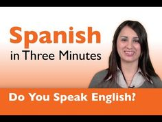how to say do you speak english in spanish