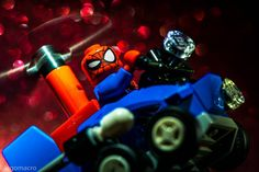 #lego #marvel #spiderman #comics #legophotography #legophoto #ilovelego #legostagram #brickstagram #minifigures #minifig #minifigure #instalego #legogram #legomightymicros #legomarvel #blue #red #black #lightroom by legomacro