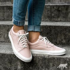 Love those pink sneakers with denim jeans.  bfc73a36e