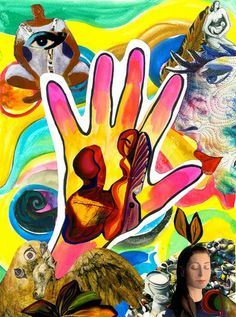 Expressive Art Activity # 39 - Body Stories with Collage - The Art of Healing Psyche and Soul