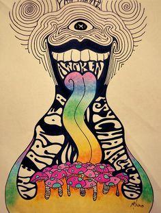 the art of a awaken psychadelic mind