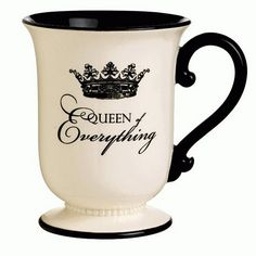 Queen Everything mug