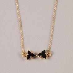Sabrina Dehoff bowtie necklace