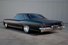 Flat Black 1963 Buick Riviera Customized by Fesler Just Exudes Menace - Carscoops