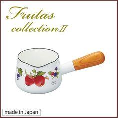 【富士ホーロー】 フルータス コレクション ホーロー ミルクパン 12cm(0.75L)◆日本製/フルータス/ボタニカル柄/キッチン/キッチングッズ クッキングクロッカ - Yahoo!ショッピング - Tポイントが貯まる!使える!ネット通販