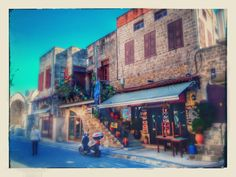 Rhodes island old town