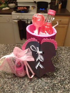 Bachelorette party favor! DIY Jenna and Mario