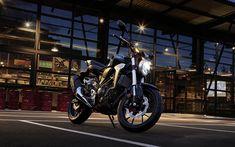 Download wallpapers 4k, Honda CB300R, superbikes, 2019 bikes, japanese motorcycles, Honda
