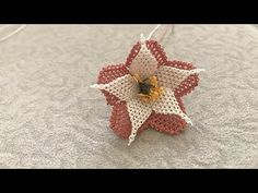 Creative Embroidery, Point Lace, Needle Lace, Ribbon Work, Crochet Patterns For Beginners, Lace Embroidery, Fabric Flowers, Youtube, Crochet Earrings