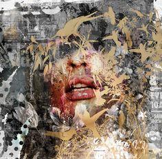 Teis Albers x Mixed Media Art