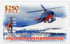 Sello: International Polar Year (Chile) (Natural) Mi:CL 2240