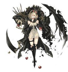 DIE!DIE!DIE!那些你最熟悉的死神 - http://mag.moe/71877 #可爱, #死神, #美图 提到死神大家会想到拿着一副骸骨手执巨大、锋利的镰刀,身上披着破破烂烂的黑色斗篷的形象,给人一种很不吉利的印象。 我想……你们印象中现在的死神形象就是这个了吧!Envy丶丨 死神 id=56951284。封面来自魔界の住民 一個たべる? id=15151560 还是说,首先想到了BLEACH里的死神呢?ミ�