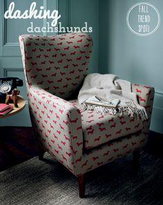 Bright.Bazaar: Fall Trend Spot: Dashing Dachshunds!
