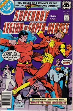 Superboy 19491979 1st Series DC 248  February 1979 by ViewObscura, $2.00