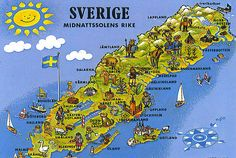Sverige - but it has to be a very warm summer for me to visit you :)