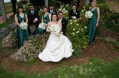 Wedding group at Parnassus Vineyard,Gippsland